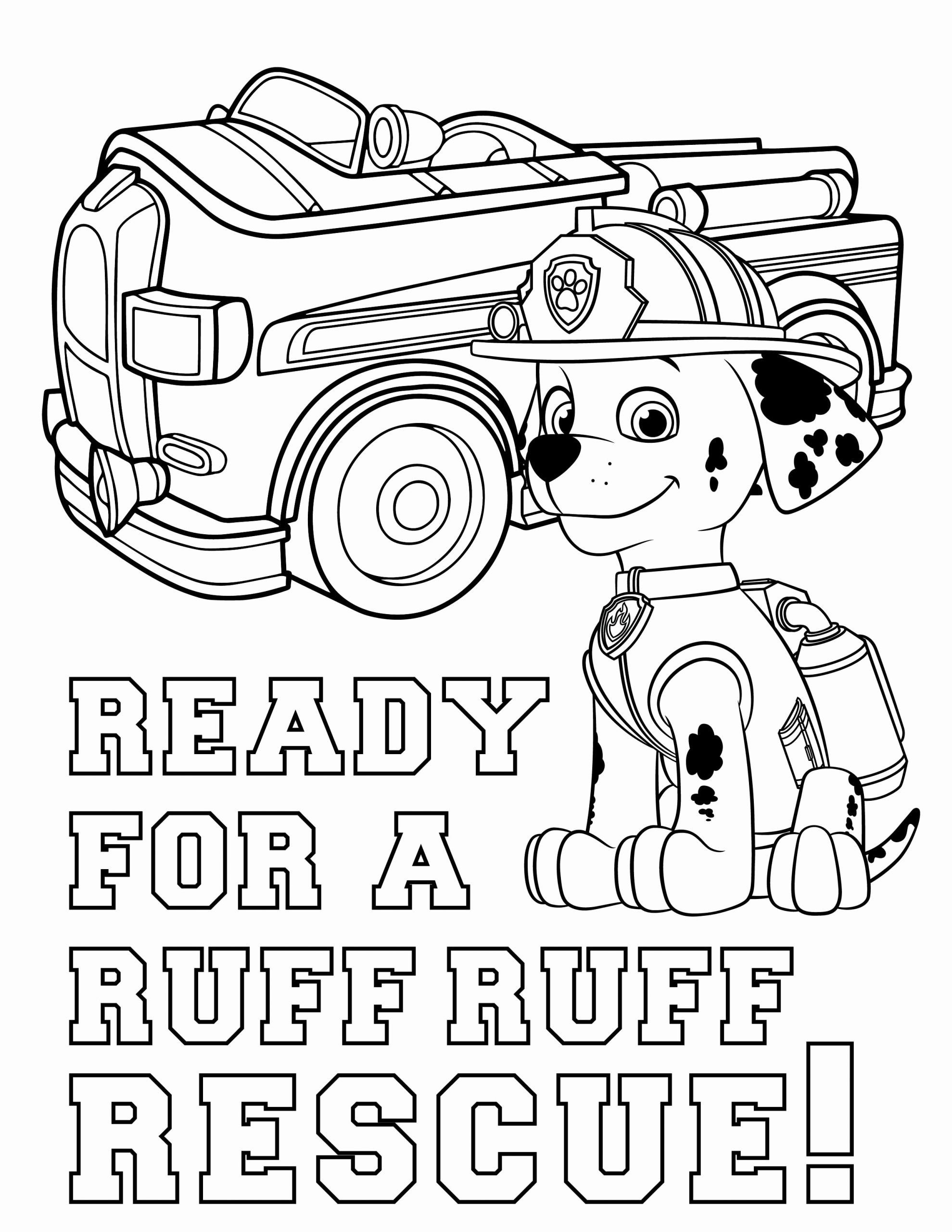 32 Paw Patrol Marshall Coloring Page in 2020 | Paw patrol ...