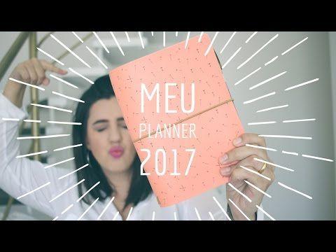 MEU PLANNER 2017   A.CRAFT   DIY PLANNER - YouTube
