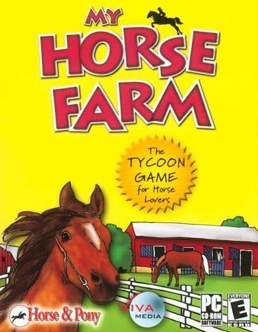 My Horse Farm by Viva Media. $5.71. The Tycoon Game for Horse LoversProduct InformationLife is full of surprises! Only one week ago you didn't know that you have a wealthy aunt living alone on a small farm close to the small town of Trotterville. But it's not a secret anymore because your generous auntie has decided to give you her farm because she is moving to Australia. Wele to your new home Morgan Valley Farm a real training and breeding horse farm.Not a fan of ...