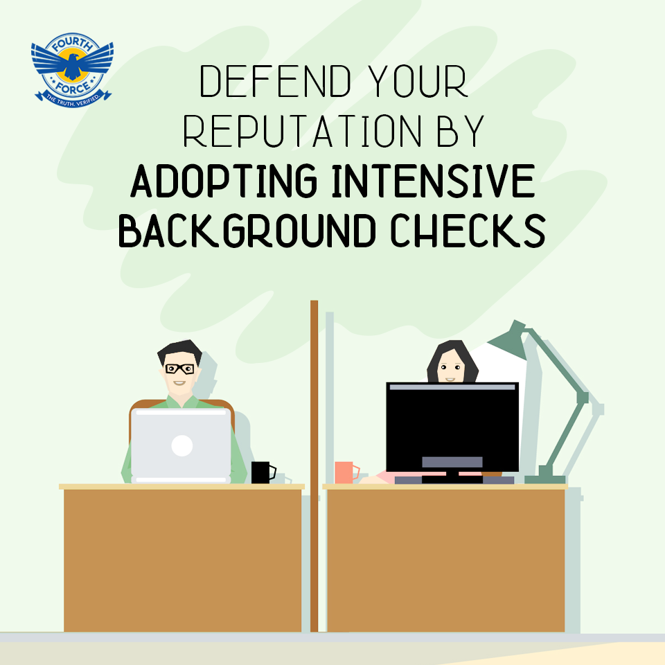 Running a background check can reveal the credentials of your potential candidates.
