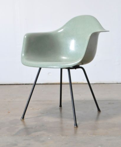 Eames DAX in Sea Foam Green fiberglass by @hermanmiller