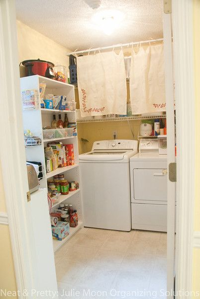 Add A Pantry To Your Laundry Room