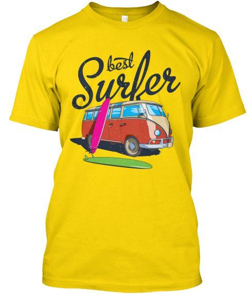 Best Surfer Daisy T-Shirt Front