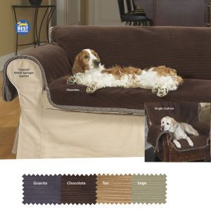 Furniture Defender Pet Couch Cover Reversible Enjoy The Company