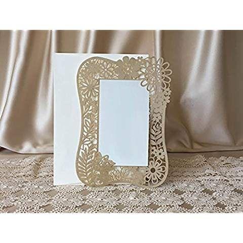 25 Stk Hochzeitseinladungskarten Set Einladung Hochzeitseinladung