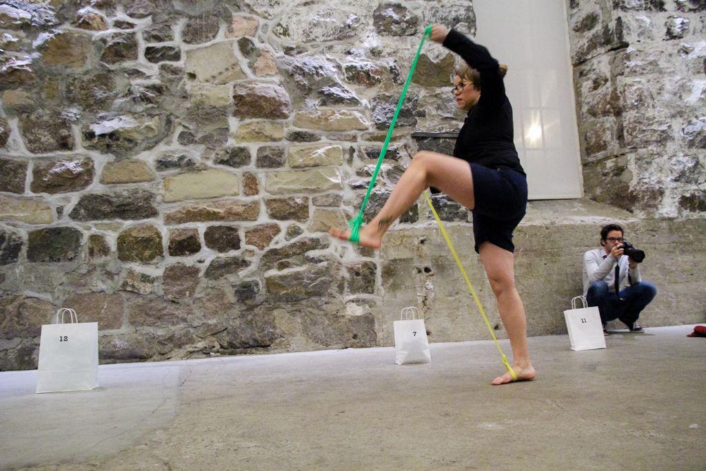"Leena Kela (Finland), ""Walk This Way"", Chicoutimi, Canada, 2013"