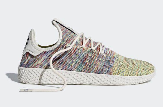 Pharrell x adidas tennis hu multicolore prossimamente un nuovo colorway di