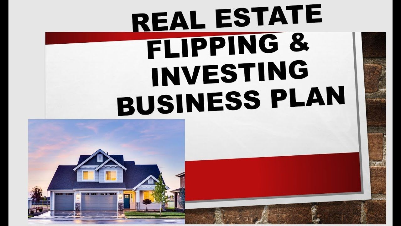 Real Estate House Flipping Business Plan House flipping