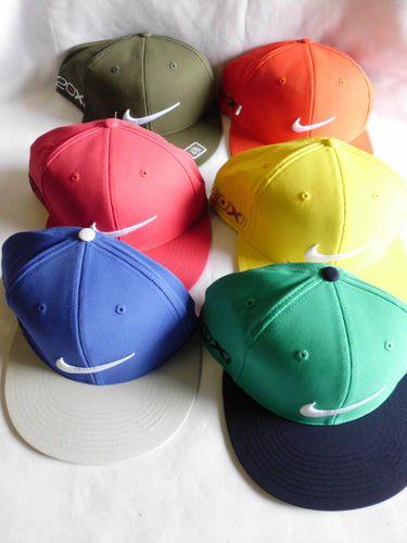 fb63283d4f4 NEW  13 Nike Golf Tour FLAT BILL FLEX FIT 20XI Victory Red Hat