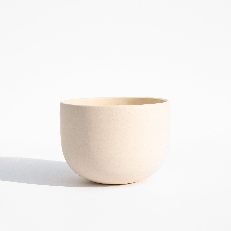 Luke Eastop Pale Coral Small Crucible Bowl Small Bowls Handmade Ceramics