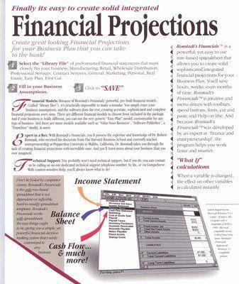 Ronstadtu0027s Financials u2013 Create professional Financial Projections - professional balance sheet