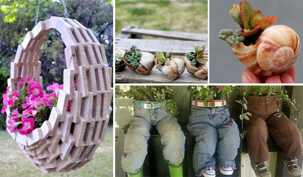 Garden Ideas Pots 17 cool and easy diy garden pot ideas - http://www