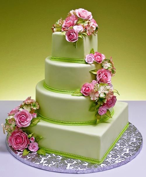 Apple Green And Blush Pink Google Search Really Cake Green
