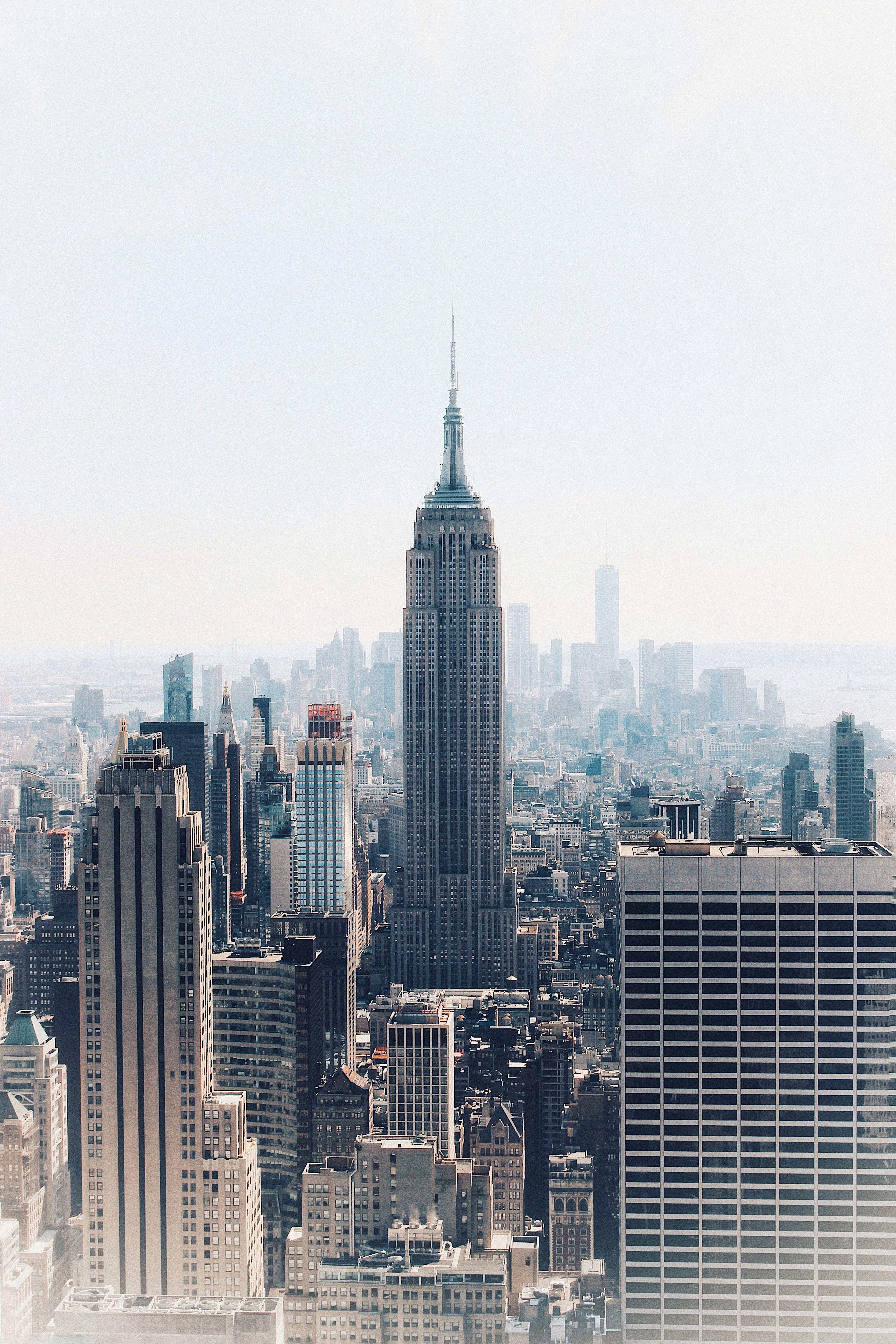 New York Prints Empire State Brooklyn Bridge Gold Foil Nyc Landmark Poster Art Art Prints