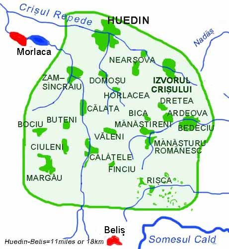Kalotaszeg Map Calata Harta Note Geographically Calata Calatele