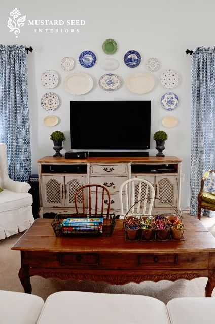 5 tips for decorating around a television  decor around
