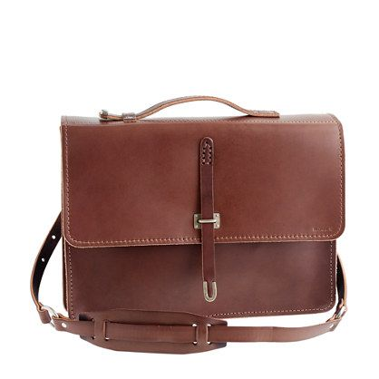Brown Leather Satchel By Billykirk