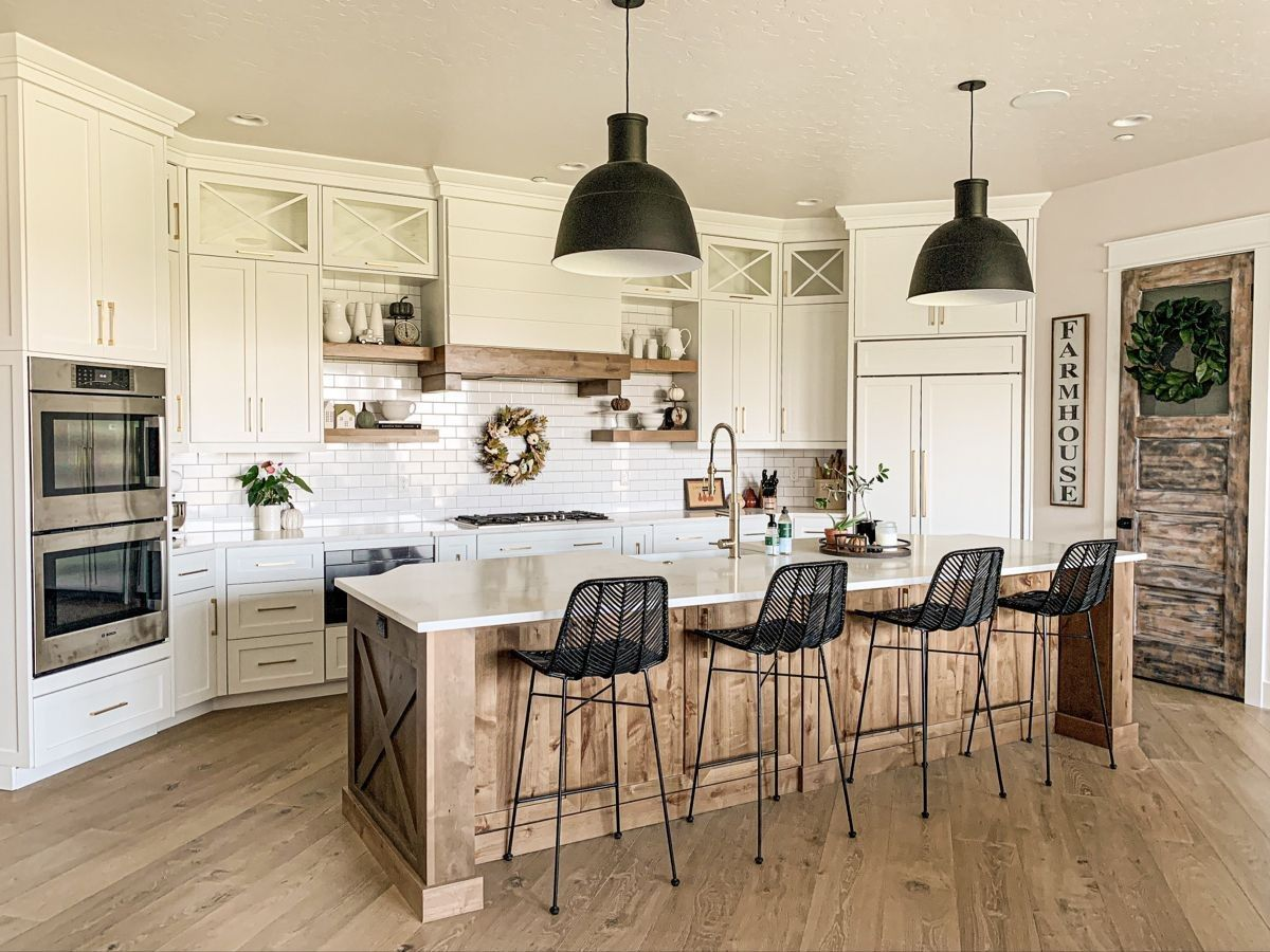 Amazon.com: black and white kitchen cabinets - Kit