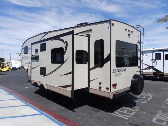 2016 New Forest River ROCKWOOD 8289, 3 SLIDES, DIAMOND PACKAGE, REAR LOUNGE Travel Trailer in California CA.Recreational Vehicle, rv, WE DO NOT CHARGE FOR PDI OR PREP FEE LIKE MOST OTHER DEALER'S! NEW 2016 Rockwood Signature Ultra Lite 8289 WS MODEL, 31 FT 5TH WHEEL TRAVEL TRAILER, DRY WEIGHT 8345 LBS, 3 SLIDES, POWER PACKAGE, MIDDLE ISLAND KITCHEN, FRONT SLEEPER, REAR LOUNGE RECLINER CHAIRS, **UPGRADED DIAMOND PACKAGE**, **UPGRADED CONVENIENCE PACKAGE F**, POWER PACKAGE, FIBERGLASS GEL…