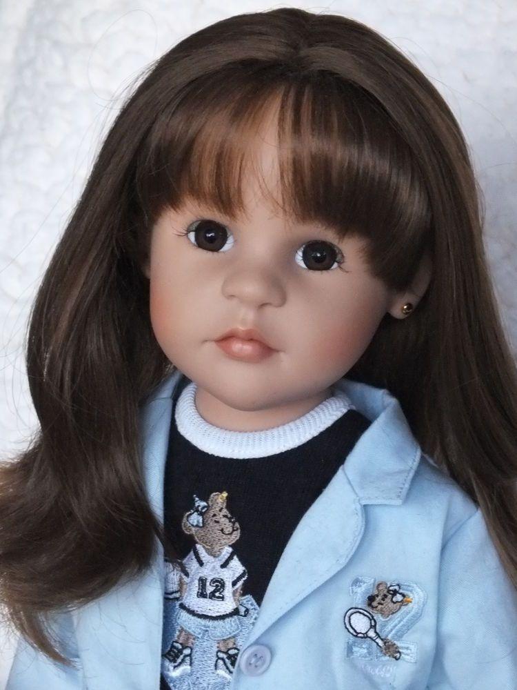 Puppen Steiff Puppe Silvia