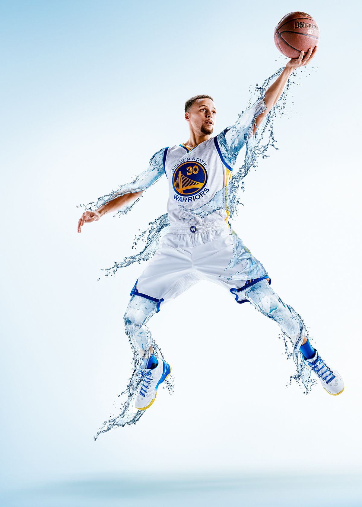 54f1969a1f8 Campaign images of NBA MVP Steph Curry for Brita water. Campaign speaks to  making every drop amazing. Your body is 60 percent water make every drop  you ...