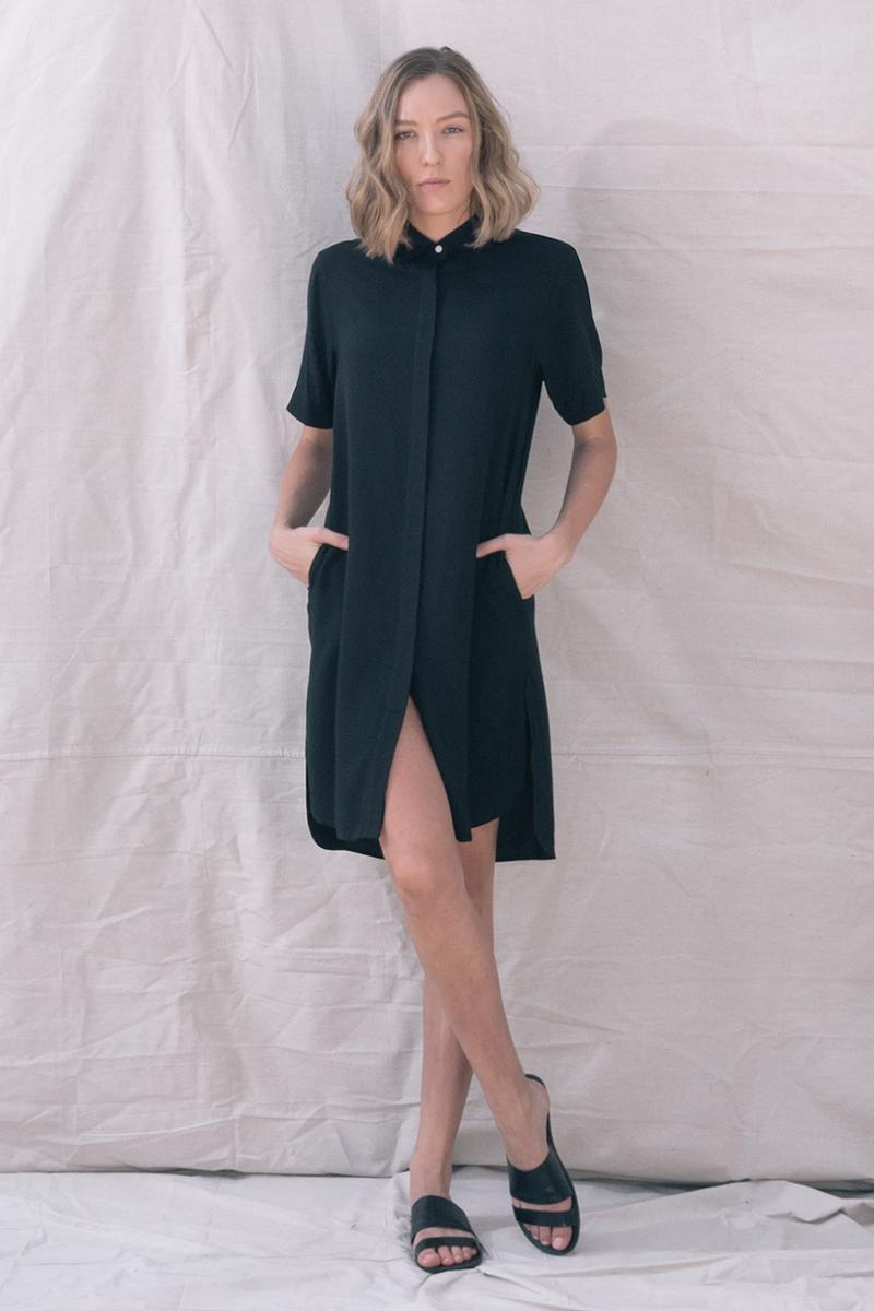 TGB EcoFashion Shop at http://the-great-beyond.com/product/black-bianca-dress/ | Free Shipping Bamboo Clothing
