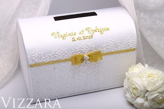How Much Gift Card For Wedding: Wedding Post Box Wedding Royal Gold Wedding Card Holder