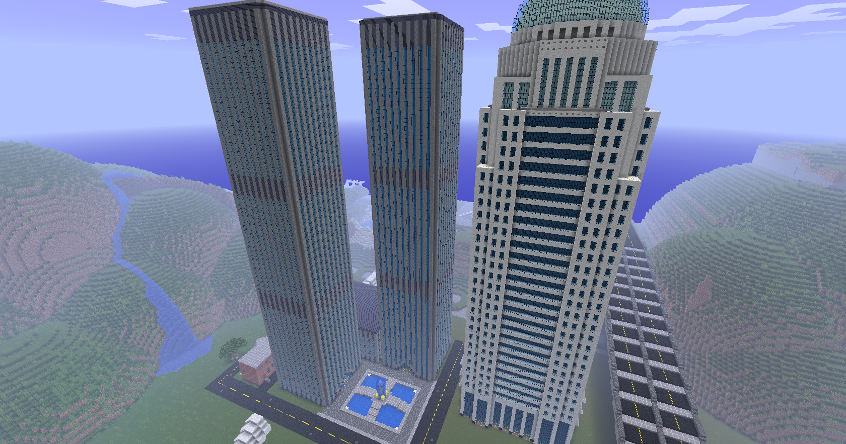 Stunning Minecraft Modern City Building Ideas With