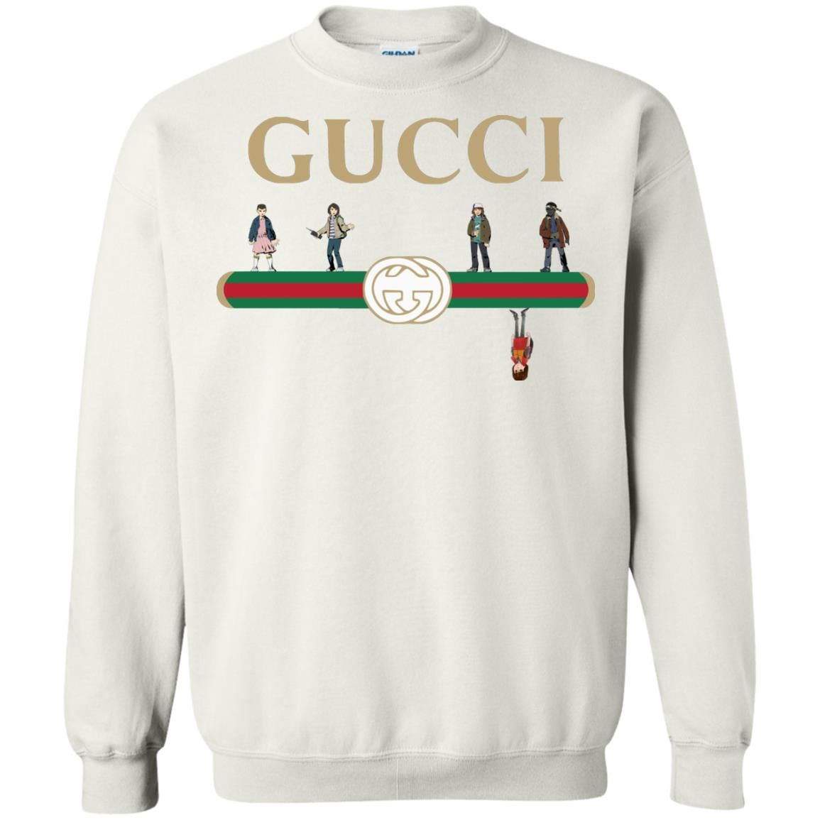 2186cb9bd8280 Stranger Things Upside Down Gucci shirt