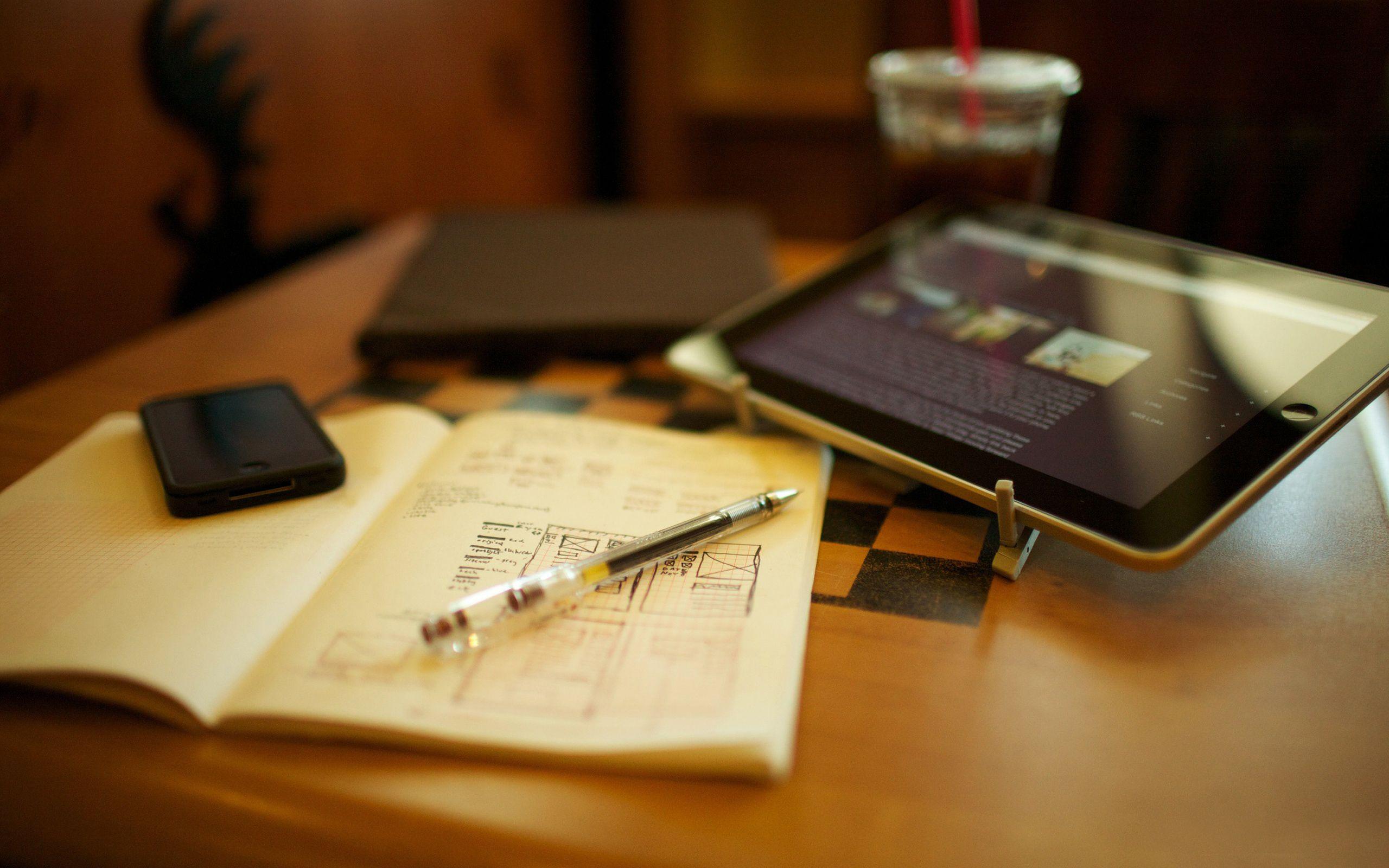 study time desktop wallpaper