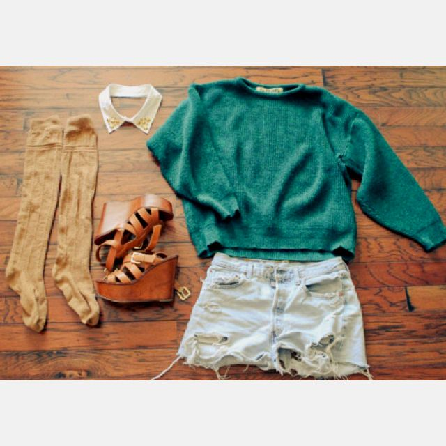 I wish I was fashionable enough to put something like this together!!