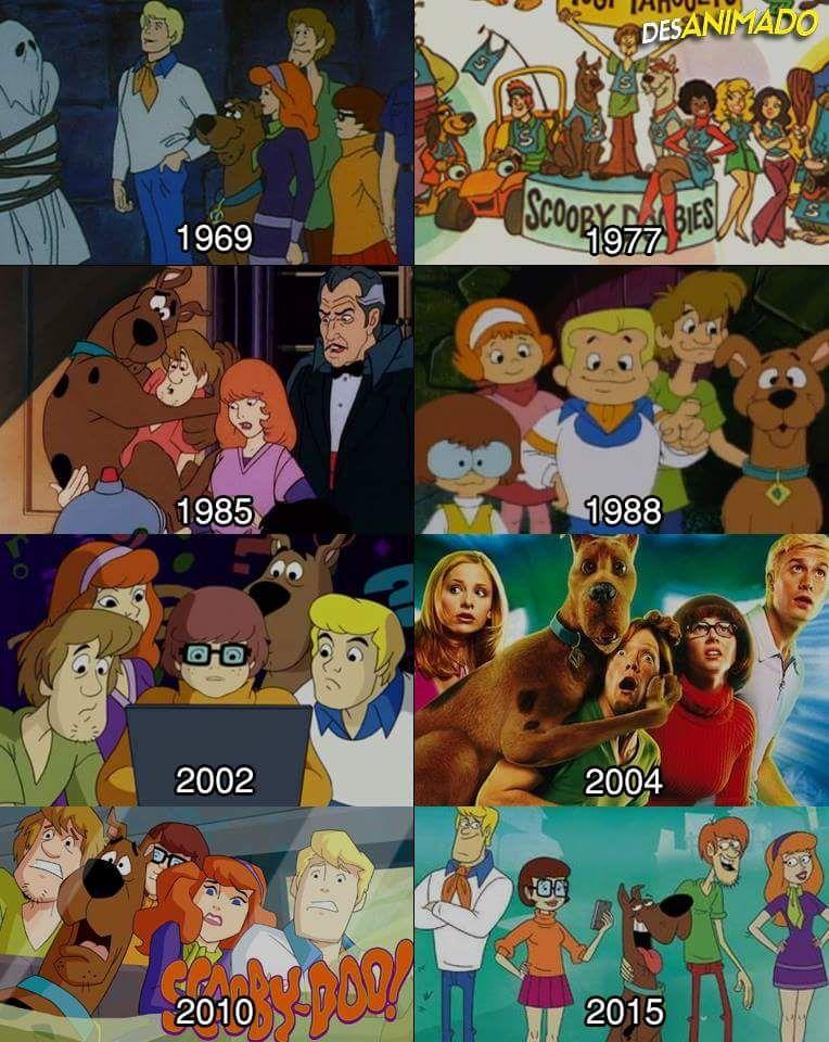 1969 1988 2002 2004 3 Melhores Mas Ninguem Merece O De 2015 Desenhos Animados Antigos Scooby Doo Scoobydoo Desenho