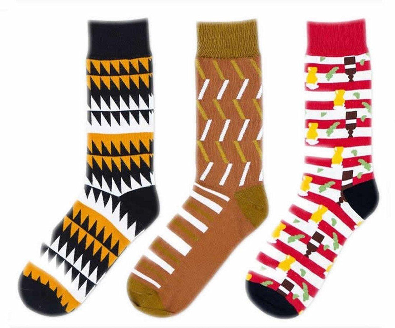 Generic Men's Classics Wave CombedCotton Crew Dress Sock