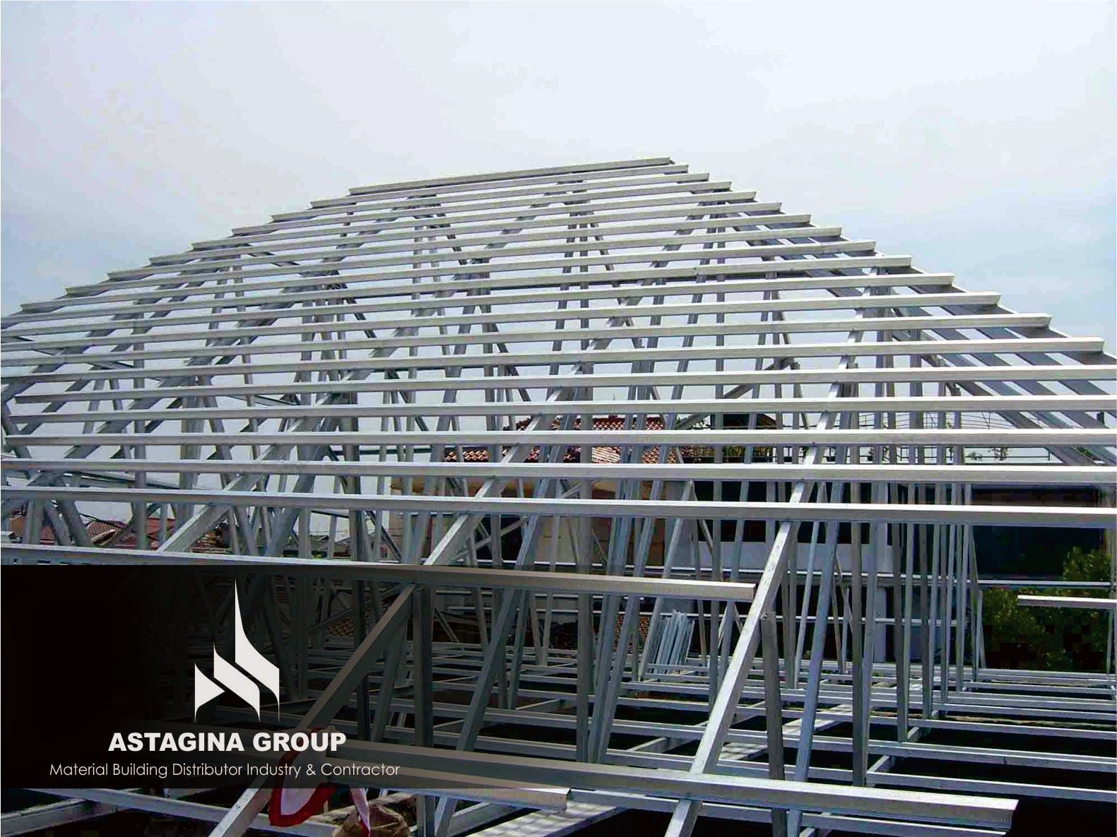 Aplikator Baja Ringan Medan Kencana Truss Supplier Rooftop Surabaya Atap