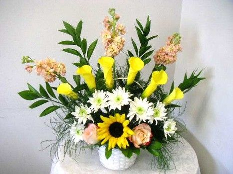 creative flower arrangements students can learn at california