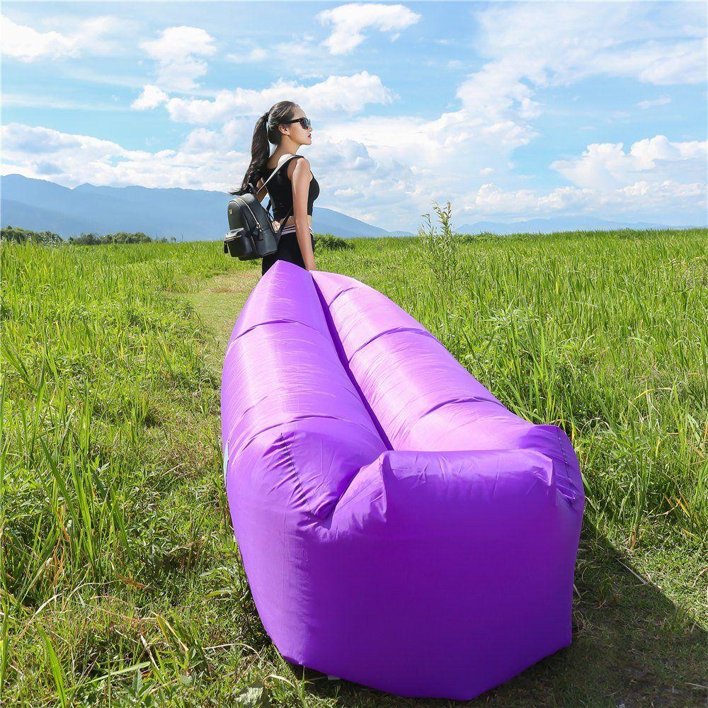WEKAPO Inflatable Lounger Air Sofa Air lounger, Glamping