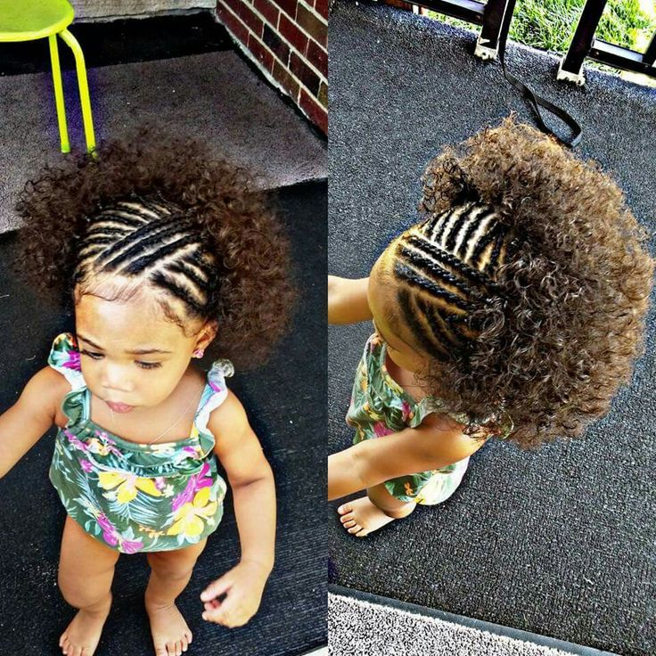 Easter Hairstyles For Adults : Short on time? nothing is cuter than this little girl hair style