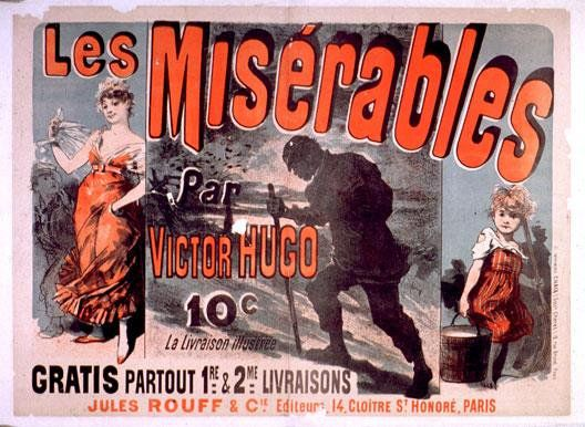 3 avril 1862 Les deux premiers tomes du roman Les Misérables sortent en librairie #livre https://t.co/5zlXfvXgWx https://t.co/IwZRfEK2lW