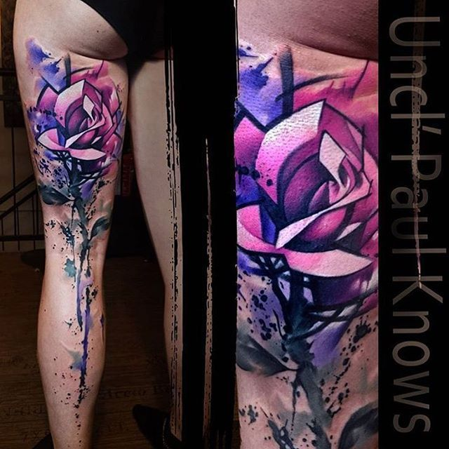 Best Watercolor Tattoo Perfect Tattoo Artists On Instagram Stunning Design By Uncl Paul Knows Perfectt In 2020 Creative Tattoos Watercolor Tattoo Tattoo Artists