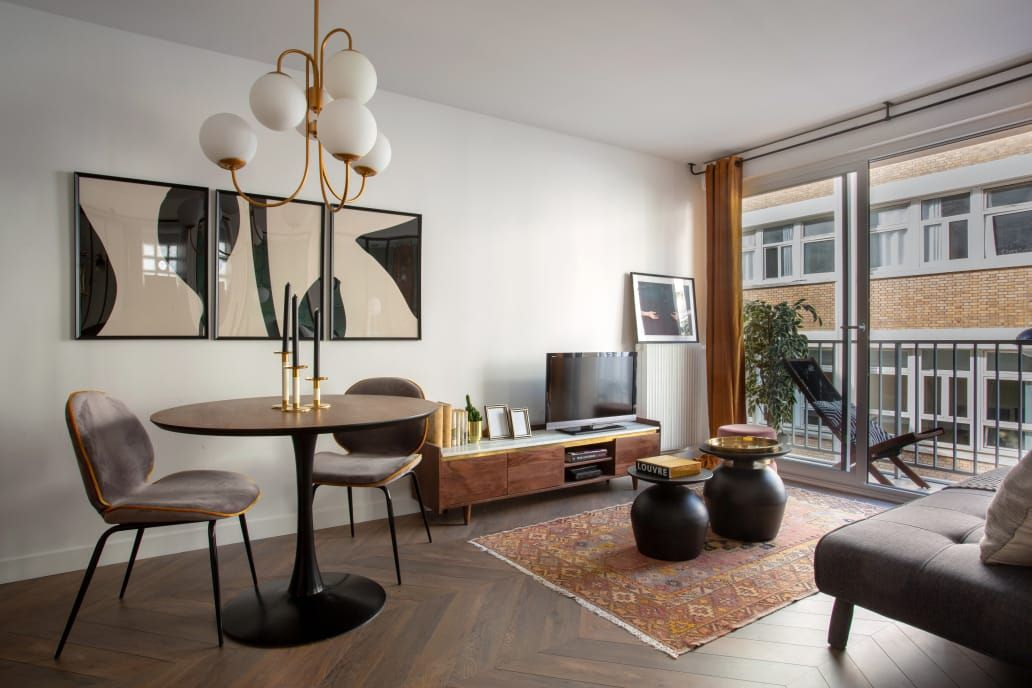 Remodeling Ideas In A Modern Paris Studio Apartment Therapy