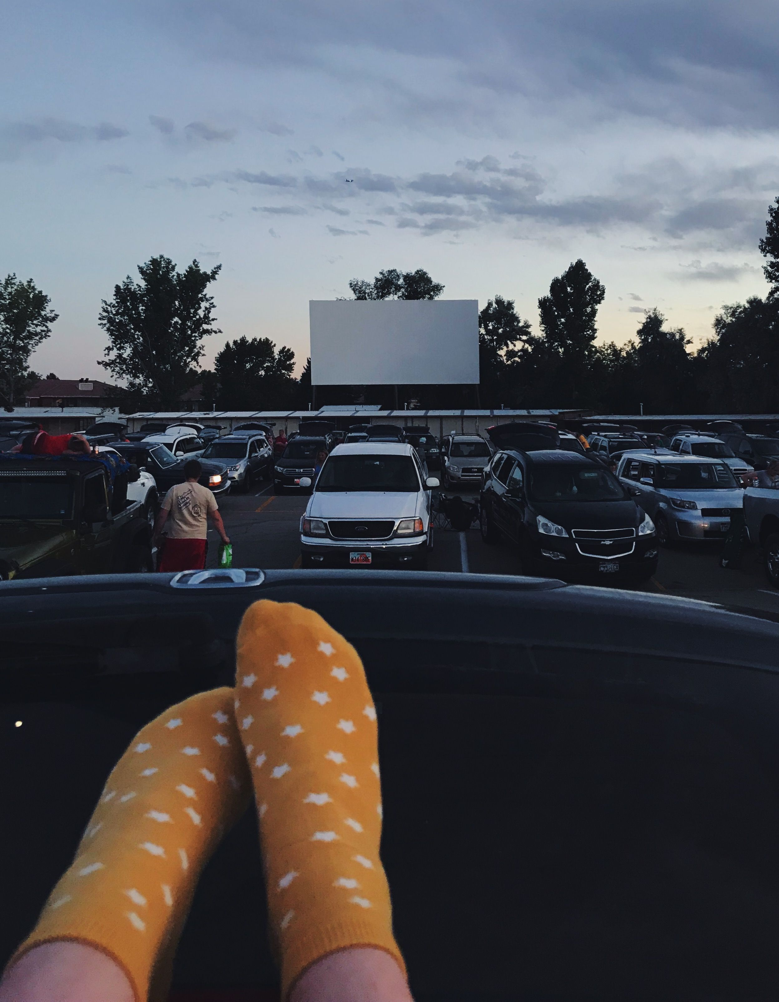 Yellow Summer Sunset Drive Movie Cute Aesthetic Stars