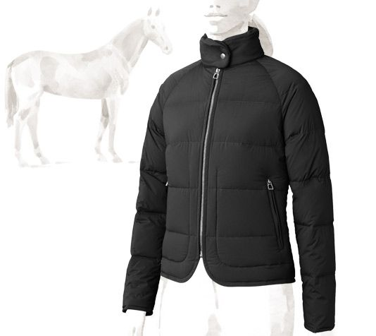 Piumino Ladies  down jacket in warm and ultra lightweight pure natural  goose down. Fitted ce3ba38bfc7