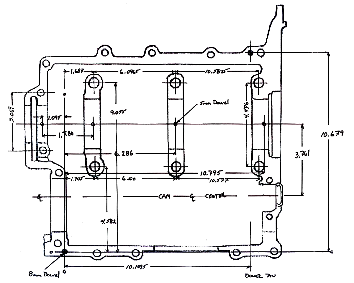 Board And Batten Dimensions Vw Type 1 Engine Case Dimensions Karmann Ghia Repair Pinterest