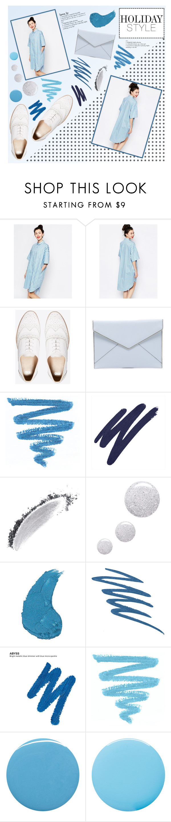 """Oversized dress"" by eks02 ❤ liked on Polyvore featuring Monki, ASOS, Rebecca Minkoff, By Terry, NARS Cosmetics, Topshop, Urban Decay, Deborah Lippmann and Smith & Cult"