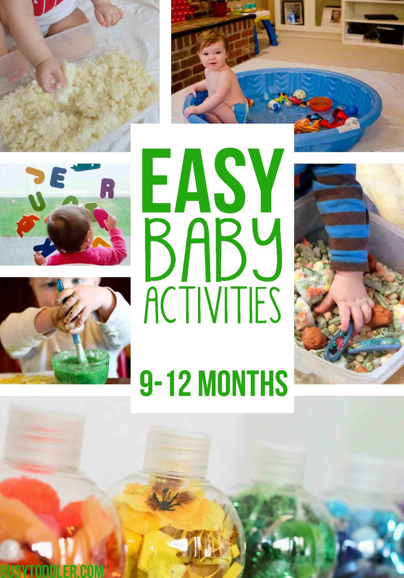 20 Fun Amp Easy Baby Activities