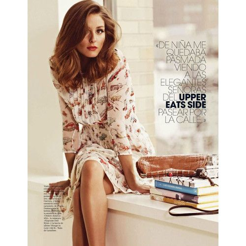 Olivia Palermo for Marie Claire Spain, April 2012