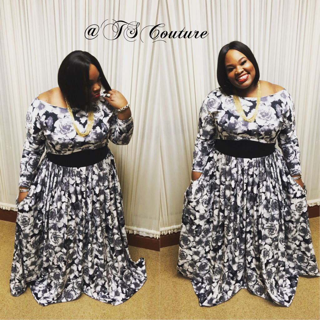 222d283088f85 Tasha Cobbs in her TSCouture floral crop top and maxi skirt!!!  Www.tscouture.com