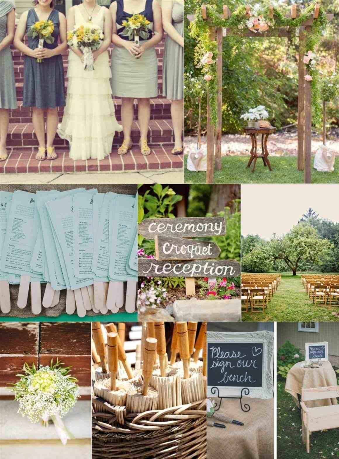 very small backyard wedding ideas | Cheap backyard wedding ...