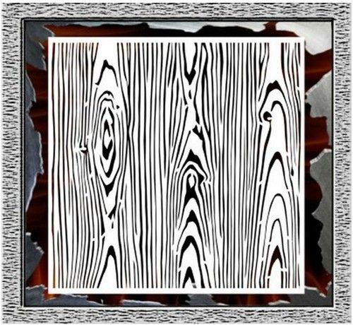 Airbrush Stencil Wood Grain Texture Background Template Decor - Ebay background templates