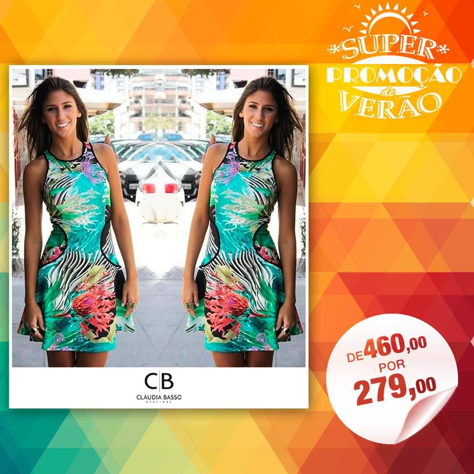 #Vestido #Vestidos #Dress #SummerDress http://claudiabassoboutique.com.br/contato/